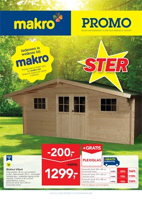 Makro folder van 14/06/2017 tot 27/06/2017 - Promo non food