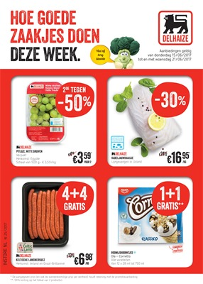 Delhaize folder van 15/06/2017 tot 21/06/2017 - Weekaanbiedingen