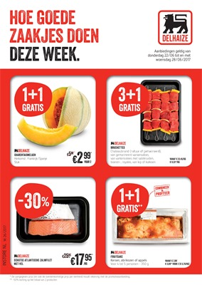Delhaize folder van 22/06/2017 tot 28/06/2017 - Weekaanbiedingen