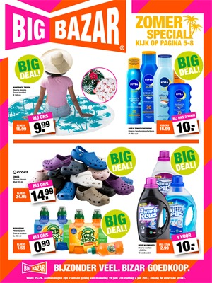 Big Bazar folder van 19/06/2017 tot 02/07/2017 - Big bazar