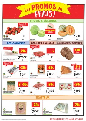 Folder Carrefour Market du 19/06/2017 au 27/06/2017 - Carrefour Market folder