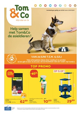 Tom & Co folder van 29/06/2017 tot 12/07/2017 - Top promo