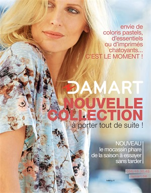 Folder Damart du 19/06/2017 au 15/12/2017 - Saison douce - nouveau collection
