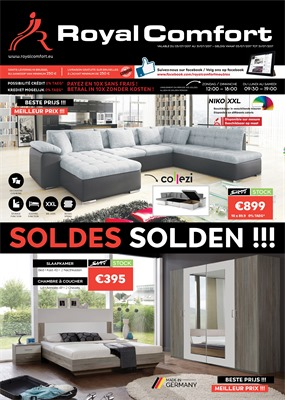Royal Comfort  folder van 03/07/2017 tot 31/07/2017 - Solden