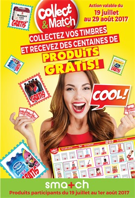 Folder Smatch du 19/07/2017 au 01/08/2017 - Collect & Cash