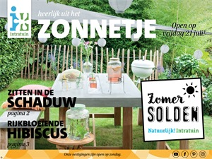 Intratuin folder van 17/07/2017 tot 23/07/2017 - zomersolden