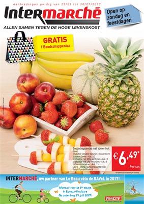 Intermarché folder van 25/07/2017 tot 30/07/2017 - Weekaanbiedingen