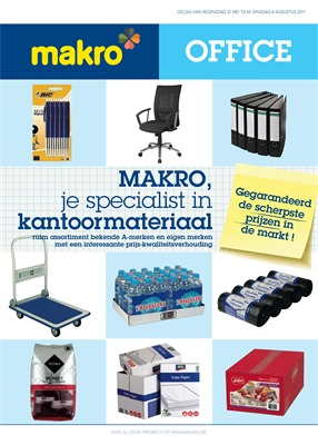 Makro folder van 26/07/2017 tot 08/08/2017 - Office