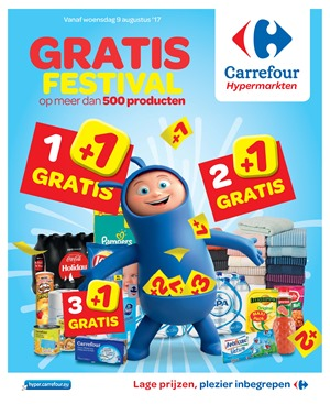 Carrefour folder van 09/08/2017 tot 21/08/2017 - Weekaanbiedingen