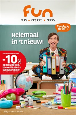 Fun folder van 11/08/2017 tot 11/09/2017 - Back to School