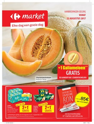 Carrefour Market folder van 23/08/2017 tot 03/09/2017 - Weekaanbiedingen