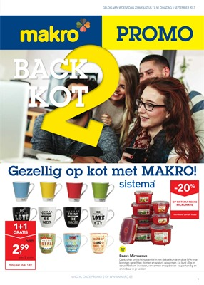 Makro folder van 23/08/2017 tot 05/09/2017 - Back 2 kot