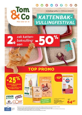 Tom & Co folder van 31/08/2017 tot 13/09/2017 - KATTENBAKVULLINGFESTIVAL
