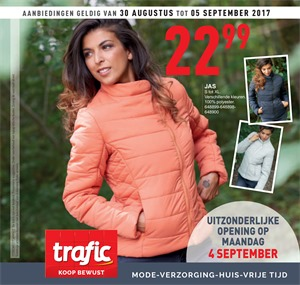 Trafic folder van 30/08/2017 tot 05/09/2017 - Weekaanbiedingen