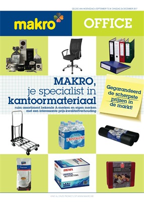 Makro folder van 06/09/2017 tot 26/12/2017 - Office