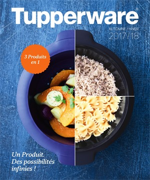 Folder Tupperware du 21/09/2017 au 21/03/2018 - Catalogue Automne/hiver
