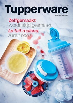 Tupperware folder van 02/10/2017 tot 05/11/2017 - Oktober