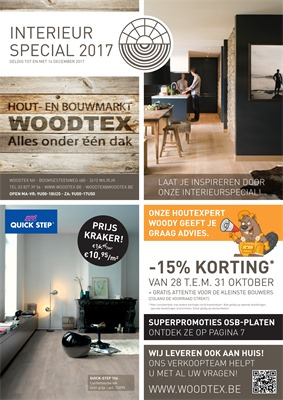 Woodtex folder van 26/10/2017 tot 26/11/2017 - Interieur special