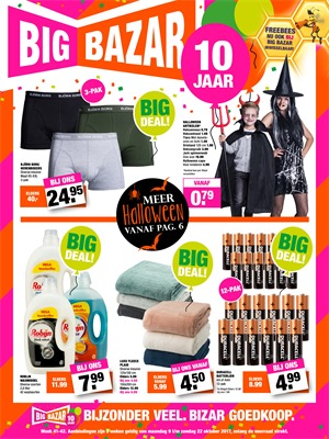 Big Bazar folder van 09/10/2017 tot 22/10/2017 - Big Deals