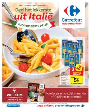 Carrefour folder van 11/10/2017 tot 23/10/2017 - Weekaanbiedingen