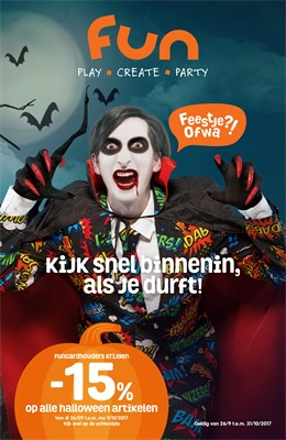 Fun folder van 26/09/2017 tot 31/10/2017 - Halloween
