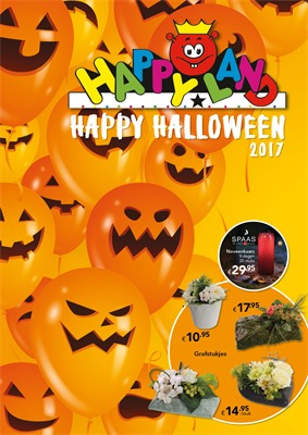 Happyland folder van 09/10/2017 tot 04/11/2017 - Happy Halloween 2017