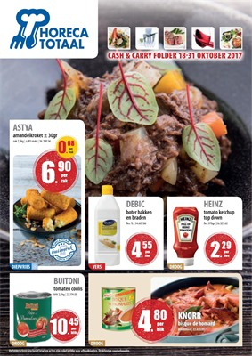 Horeca Totaal folder van 18/10/2017 tot 31/10/2017 - Cash & Carry Folder
