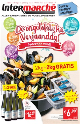 Intermarché folder van 17/10/2017 tot 22/10/2017 - Weekaanbiedingen