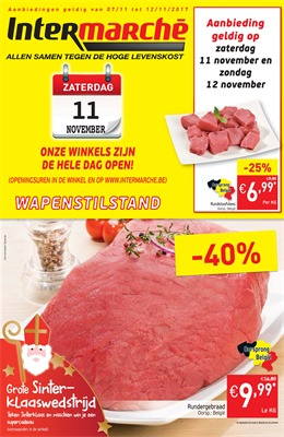 Intermarché folder van 07/11/2017 tot 12/11/2017 - weekaanbiedingen