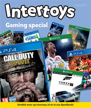 Intertoys folder van 06/11/2017 tot 12/11/2017 - Gaming special