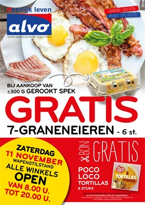 C&B Alvo folder van 08/11/2017 tot 14/11/2017 - weekaanbiedingen