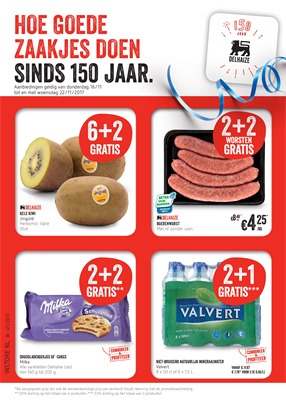 Delhaize folder van 16/11/2017 tot 22/11/2017 - weekaanbiedingen