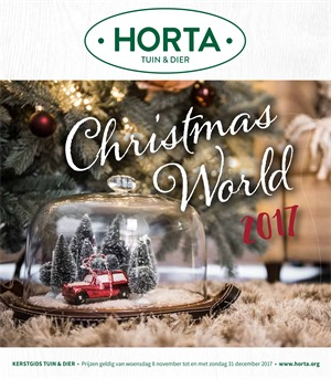 Horta folder van 08/11/2017 tot 31/12/2017 - Christmas world 2017