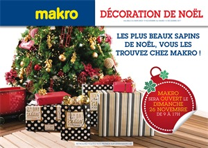 Folder Makro du 15/11/2017 au 12/12/2017 - Décoration de Noël