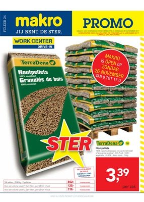 Makro folder van 15/11/2017 tot 28/11/2017 - Promo non food