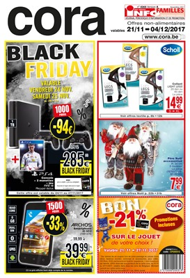 Folder Cora du 21/11/2017 au 04/12/2017 - Black Friday
