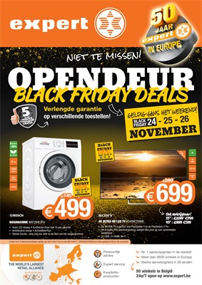 Expert folder van 20/11/2017 tot 06/12/2017 - Black Friday deals