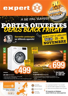 Folder Expert du 20/11/2017 au 06/12/2017 - Black Friday deals