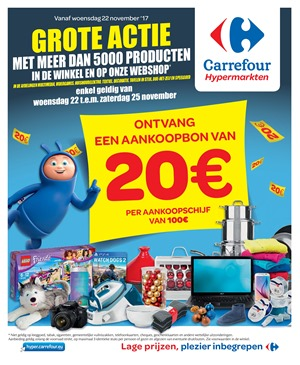 Carrefour folder van 22/11/2017 tot 25/11/2017 - weekaanbiedingen