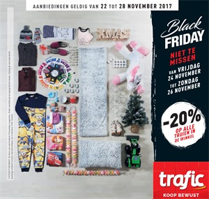 Trafic folder van 22/11/2017 tot 28/11/2017 - Black Friday