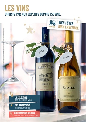 Folder Delhaize du 23/11/2017 au 03/01/2018 - Vin catalogue