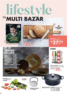 Multi Bazar folder van 27/11/2017 tot 31/12/2017 - Lifestyle