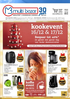 Multi Bazar folder van 07/12/2017 tot 31/12/2017 -
