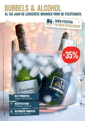 Delhaize folder van 23/11/2017 tot 03/01/2018 - Bubbels & Alcohol