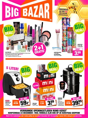 Big Bazar folder van 18/12/2017 tot 01/01/2018 - Big Deals