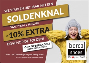 Berca Shoes folder van 02/01/2018 tot 07/01/2018 - Soldenknal