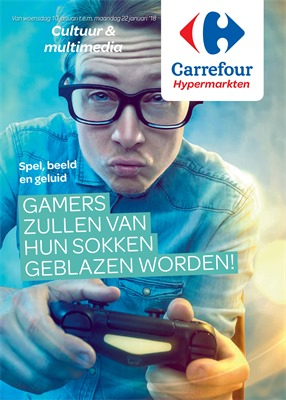 Carrefour folder van 10/01/2018 tot 22/01/2018 - Cultuur & Multimedia januari