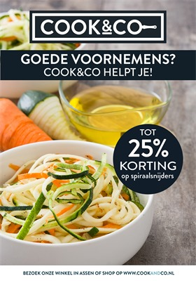 Cook & Co folder van 01/01/2018 tot 21/01/2018 - Promo van de maand