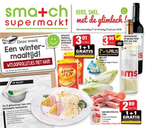 Smatch folder van 17/01/2018 tot 23/01/2018 - Promo januari week 3