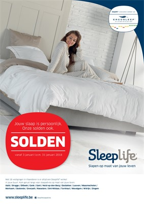 Sleeplife folder van 03/01/2018 tot 31/01/2018 - Solden